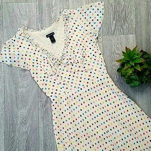 Moda International  A-Line V-Neck Dress Size 4